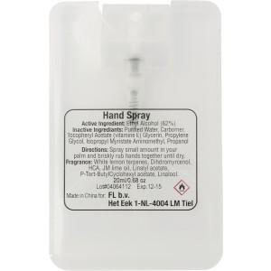 Kézfertőtlenítő spray, 20 ml